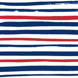 Grunge red and white stripes. Grunge blue, red and white stripes. Vector pattern design. Striped background Stock Photo