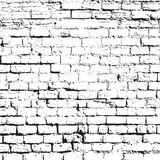 Grunge Black and White Texture. Vector abstract Background. Grunge red and White Texture. Vector abstract Background and border. Old white brick wall vector illustration