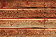 Grunge red wooden wall background in black and white. Stock Photos