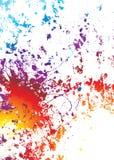 Grunge Regenbogen verwittert worden stock abbildung