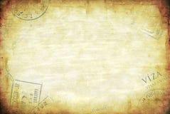 Grunge Reisen-Hintergrund Stockbilder