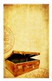 Grunge Reisen-Hintergrund Lizenzfreies Stockfoto