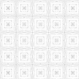 Grunge repeating pattern on a white background. Stock Images