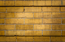 Grunge Retro Brick Wall Background Stock Photography