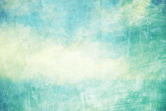 Grunge retro cloud and sky Royalty Free Stock Photography