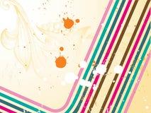 Grunge retro colorful background.  Royalty Free Stock Photography