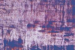 Grunge retro malująca tekstura Malująca podława powierzchnia z zrudziałą i starą farbą tło abstrakcyjne światła Obrazy Royalty Free