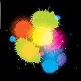 Grunge retro pastel decorative  background Stock Images