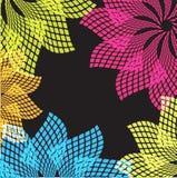 Grunge retro pastel decorative  background Stock Image