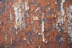 Grunge retro rusty metal texture or background Stock Photos