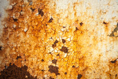 Grunge retro rusty metal texture or background Stock Photo