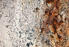Grunge retro rusty metal texture or background Royalty Free Stock Photo