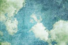 Grunge retro sky background Stock Images
