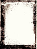 Grunge retro style abstract textured frame Royalty Free Stock Photography