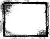 Grunge retro style frame for your projects Royalty Free Stock Images