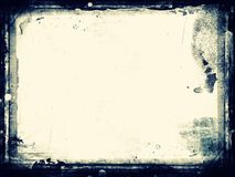 Grunge retro style frame for your projects Royalty Free Stock Photography