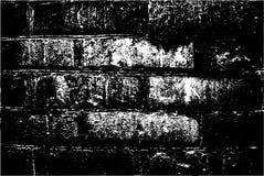 Grunge retro texture of the brick wall. Vector illustration Stock Image