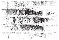 Grunge retro texture of the brick wall. Vector illustration Royalty Free Stock Photo