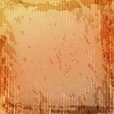 Grunge retro vintage paper texture, grungy old orange yellow background Royalty Free Stock Photo