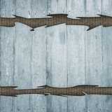 Grunge retro vintage wood background Stock Photography