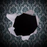 Grunge Retro- Weinlese-Tapetenhintergrund Lizenzfreies Stockfoto