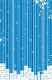 Grunge retro winter background Stock Photography