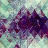 Grunge rhomboid pattern Royalty Free Stock Photography