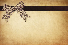 Grunge ribbon Stock Photography