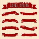 Grunge Ribbons Royalty Free Stock Photos