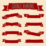 Grunge ribbons Royalty Free Stock Photos