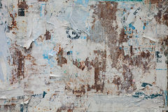 Grunge ripped poster background Stock Photography