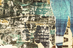 Grunge ripped poster background Royalty Free Stock Images