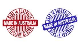 Grunge ROBIĆ W AUSTRALIA Drapał Wokoło Watermarks ilustracji