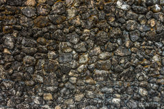 Grunge rock wall royalty free stock photos