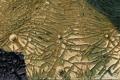 Grunge rocznika tła lub tekstury czerń i żółty kolor Zdjęcia Royalty Free