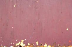 Grunge rode achtergrond. Stock Fotografie