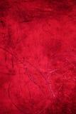 Grunge rode textuur als achtergrond - donkerrode backdro van de valentijnskaart` s dag Stock Foto