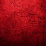 Grunge rode textuur als achtergrond - donkerrode backdro van de valentijnskaart` s dag Stock Afbeeldingen