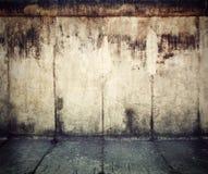 Grunge, roestige concrete muurachtergrond Royalty-vrije Stock Foto's