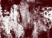 Grunge rojo y blanco de la pintura Imagen de archivo