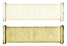 Grunge Rolls de papel Fotografía de archivo