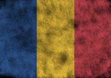 Grunge Romania flag. Royalty Free Stock Images