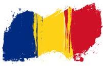 Grunge Romania flag Royalty Free Stock Image
