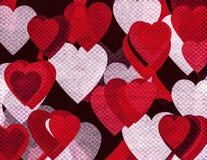 Grunge romantische achtergrond Stock Fotografie