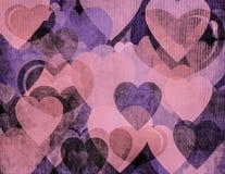 Grunge romantische achtergrond Royalty-vrije Stock Foto