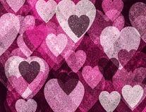 Grunge romantische achtergrond Stock Afbeelding
