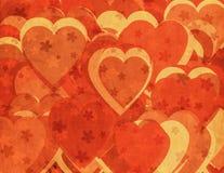Grunge romantische achtergrond Stock Foto's