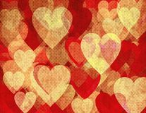 Grunge romantische achtergrond Royalty-vrije Stock Fotografie
