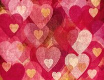 Grunge romantische achtergrond Royalty-vrije Stock Afbeelding