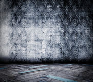 Grunge room Royalty Free Stock Photo